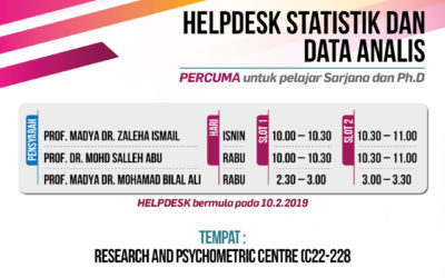 Helpdesk Statistik Dan Data Analisis
