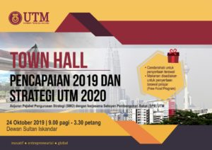 Sesi Town Hall KAI 2019 @ Dewan Sultan Iskandar