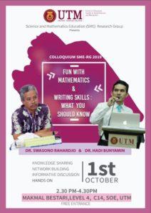 Colloquium SME-RG 2017 @ Makmal Bestari, Level 4