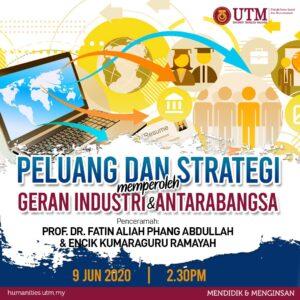 Peluang dan Strategi Memperoleh Geran Industri dan Antarabangsa