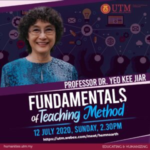 Empowering FREE @ FSSH - Fundamentals of Teaching Method @ https://utm.webex.com/meet/hemnaarth