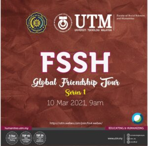 FSSH Friendship Tour 1 - UMP Purwokerto @ https://utm.webex.com/join/fss4.webex/