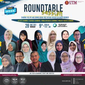 Jemputan ke Program FREE Roundtable Session
