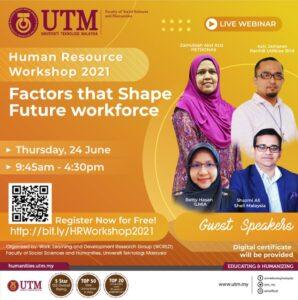 SHARPS : Human Resource Workshop 2021 @ facebook