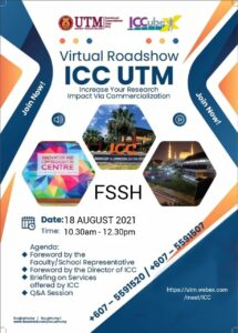 Roadshow ICC-Increase Your Research Impact Via Commercialization