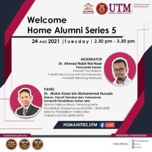 Jemputan ke Program Welcome Home Alumni Siri 5 @ FBLIVE FSSH