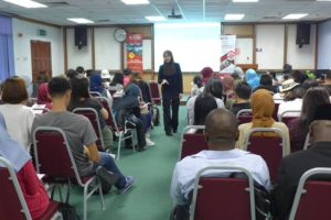 A Fun-filled Language Rich Experience for University of Electronics, Science and Technology, China by UTM Toastmasters Club and UTM MyLinE Task Force