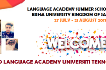 SUMMER SCHOOL PROGRAMME WITH BISHA UNIVERSITY, KINGDOM OF SAUDI ARABIA