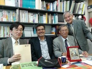 PROF TESHIMA PROF NAKABAYASHI PROF FUJIHARA FAC OF EDUCATION BUNKYO UNIV