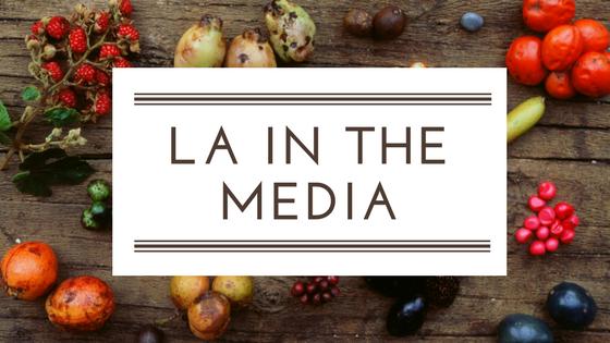 LA IN THE MEDIA