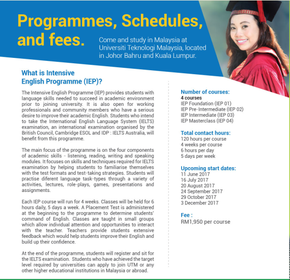 Intensive English Programme (IEP) | Language Academy