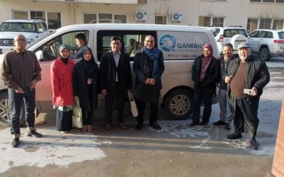 LA Went to Qaiwan University to Prepare the First Batch of Students