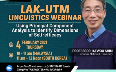 Language Academy Guest Lecture Series 1: Using Principal Component Analysis to Identify Dimensions of Self-efficacy