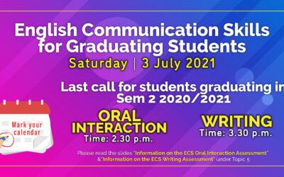 English Communication Skills for Graduating Students