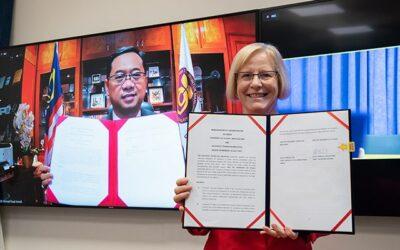 Universiti Teknologi Malaysia re-establishes connection with University of Otago through an MoU