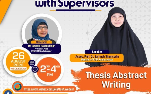 THESIS ABSTRACT WRITING