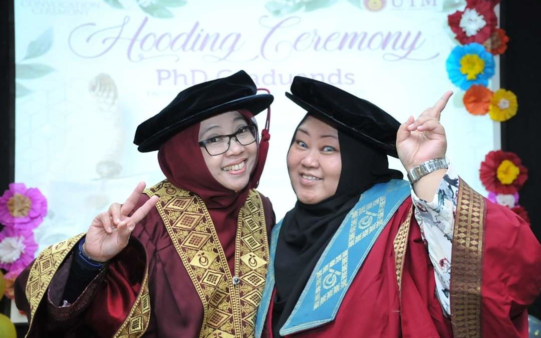 Hooding Ceremony of PhD Graduands in conjunction with UTM 63rd Convocation 2019